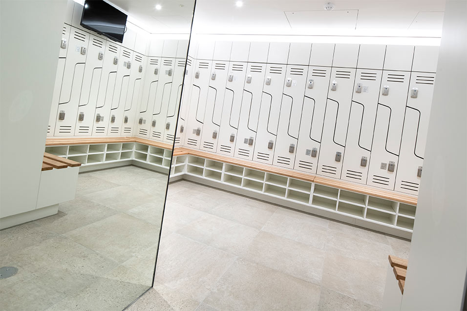 aurecon female locker room