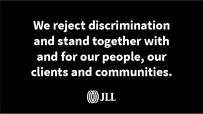 We reject discrimination and stand together with and for our people, our clients and communities.